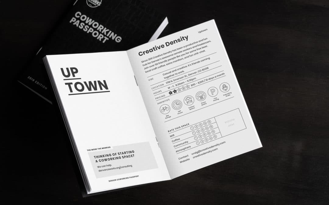 Coworking Curious?Creative Density is on the Denver Coworking Passport!