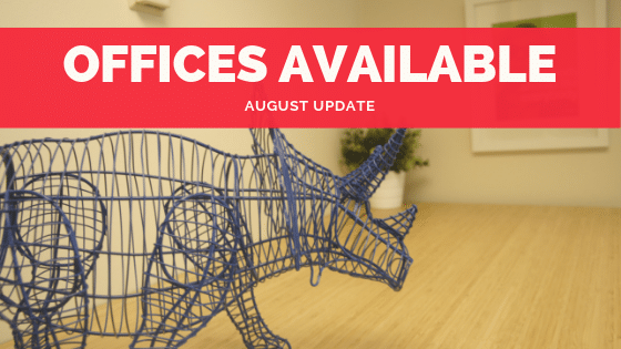 Coworking Offices for $600 Available in August