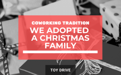 The Coworking Crew Adopted a Family this Christmas! Pick which present you want to give.