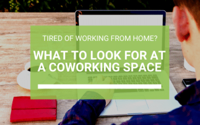 Tired of working from home? Here's what to look for at a coworking space.